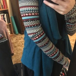 Sweater with tribal design